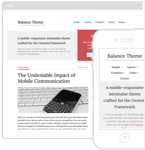 best wordpress theme balance