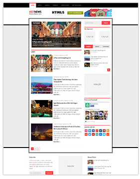 hotnews wordpress magazine theme