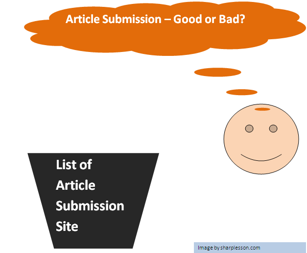 Article submission site lists.